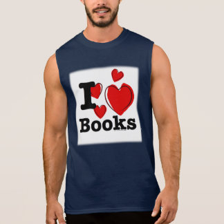 I Heart Books! I Love Books! (Sketchy Heart) Tshirts
