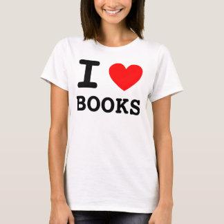 I Heart Books Shirt