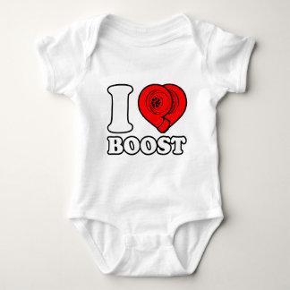 I Heart Boost Baby Bodysuit