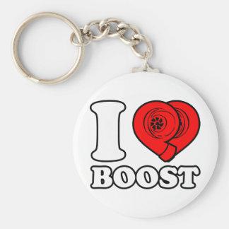 I Heart Boost Key Chains