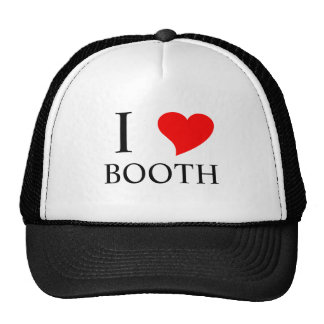 I Heart BOOTH Mesh Hat