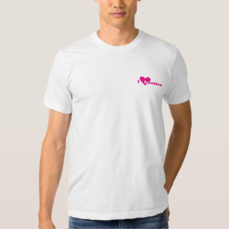 I heart booties (blank back) t-shirt