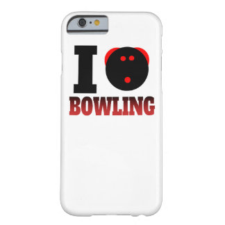 I Heart Bowling Barely There iPhone 6 Case