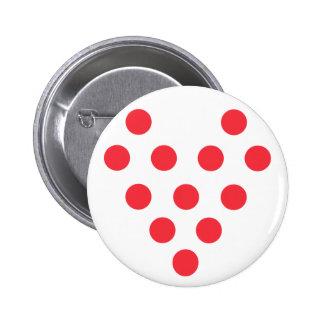 "I ""Heart"" Bowling Button"
