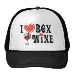 I Heart Box Wine1 Hats