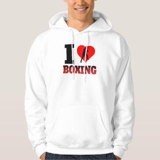 I Heart Boxing Hoodie