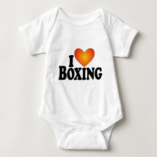 I (heart) Boxing - Lite Multi-Products Baby Bodysuit