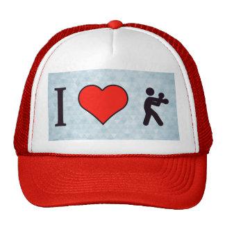 I Heart Boxing Trucker Hat