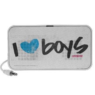 I Heart Boys Aqua PC Speakers