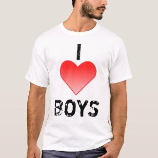 I HEART BOYS T SHIRT