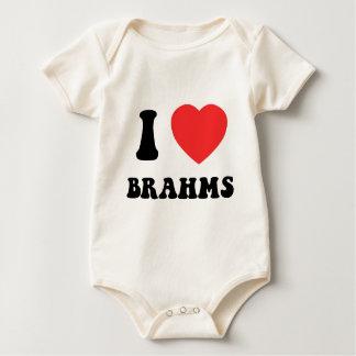 I Heart Brahms gear Romper