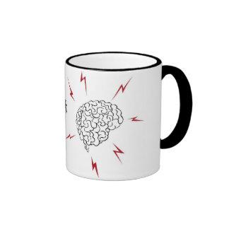 I heart BRAINS mug