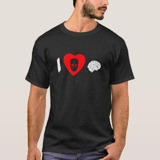 I Heart Brains T-Shirt