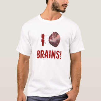 I heart brains! T-Shirt