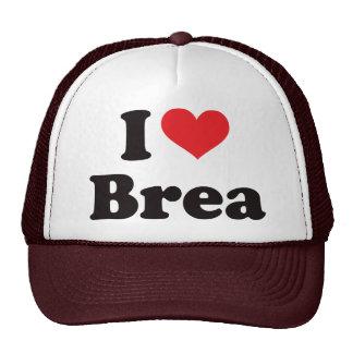 I Heart Brea Trucker Hats