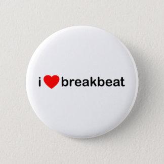 I Heart Breakbeat Button