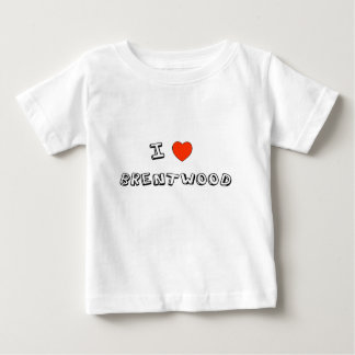 I Heart Brentwood Baby T-Shirt