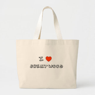 I Heart Brentwood Tote Bags