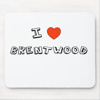 I Heart Brentwood Mousepads