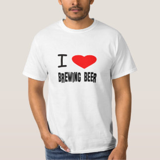 I heart Brewing Beer T-Shirt