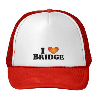 I (heart) Bridge - Lite Multi-Products Trucker Hats