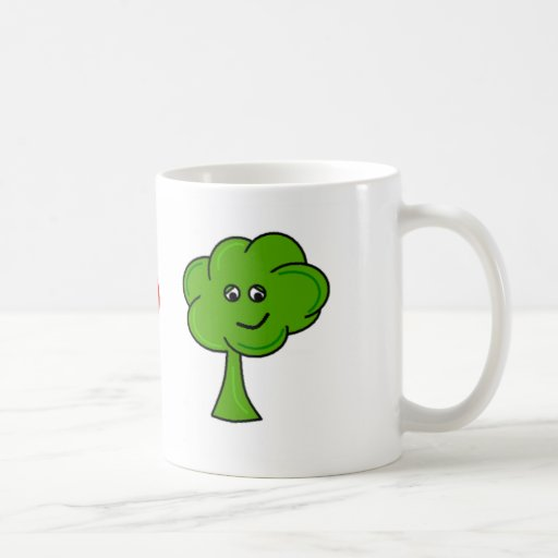 I heart Broccolli Mugs