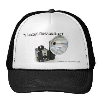 *I heart Brownies* Hawkeye Camera Trucker Cap Trucker Hats