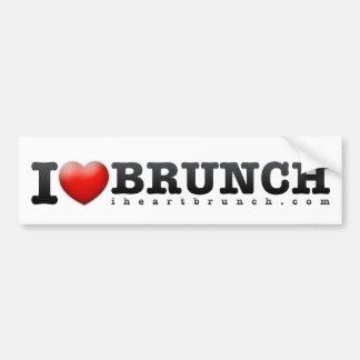 I Heart Brunch Bumper Sticker