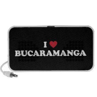 I Heart Bucaramanga Colombia Portable Speaker