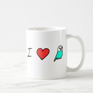 I Heart Budgies Mug