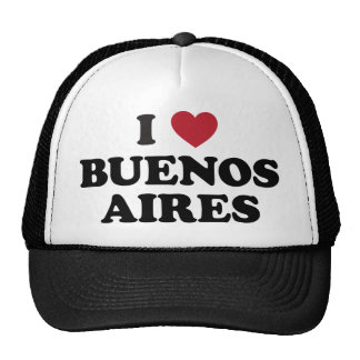 I Heart Buenos Aires Argentina Hat