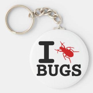 I heart Bugs Keychain