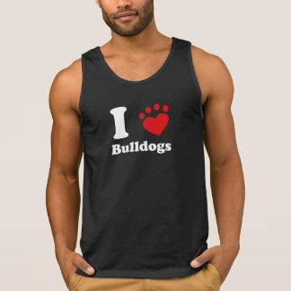 I Heart Bulldogs Tanktop