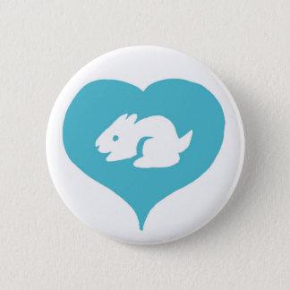 I Heart Bunnies Pin