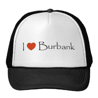 I Heart Burbank Trucker Hats
