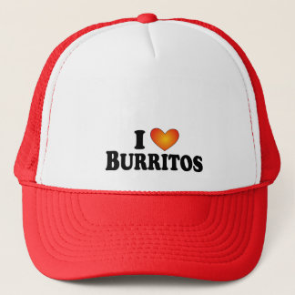 I (heart) Burritos - Lite Multi-Product T-Shirt Trucker Hat