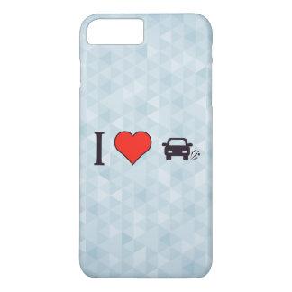 I Heart Bursting Tyres iPhone 8 Plus/7 Plus Case