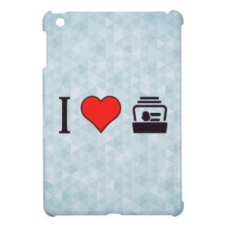 I Heart Business Cards iPad Mini Cover