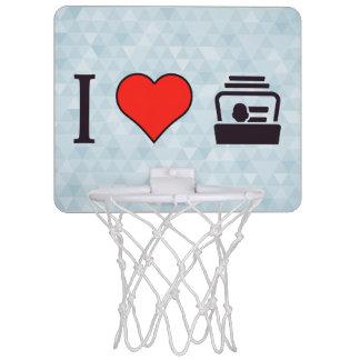 I Heart Business Cards Mini Basketball Backboards