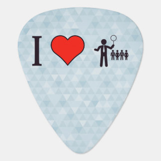 I Heart Business Leaders Guitar Pick