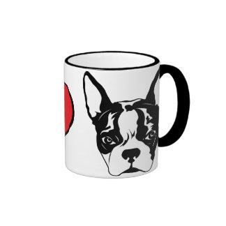 I heart Buster Ringer Coffee Mug