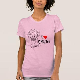 I Heart C.H.U.D.s T-shirts