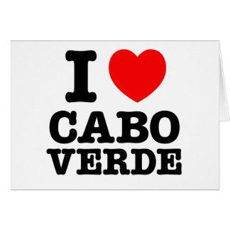 I Heart Cabo Verde Card