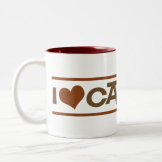 I Heart Caffeine Coffee Mug