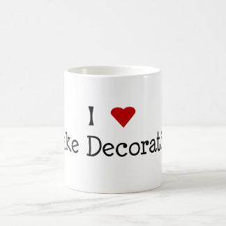 I Heart Cake Decorating Mug