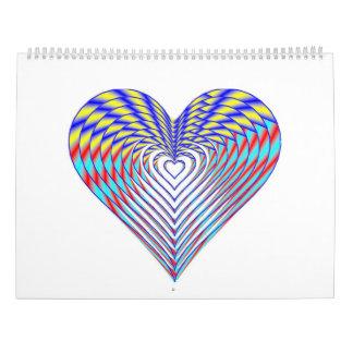 I Heart Calendars 2017 Calendar