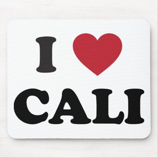 I Heart Cali Colombia Mousepads