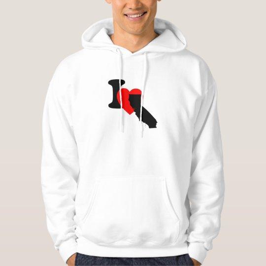 I Heart California Hoodie