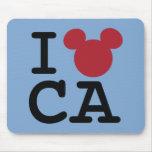 I Heart California Mouse Pads