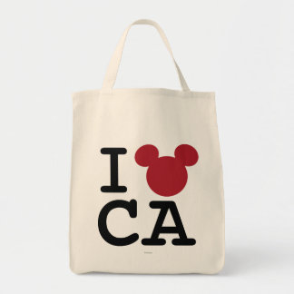 I Heart California Tote Bag